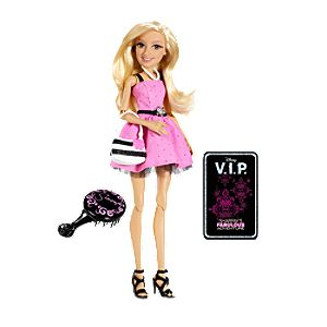 Sharpay Doll by Mattel -- 7 H