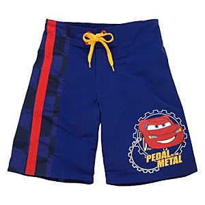 Lightning McQueen Swim Trunks