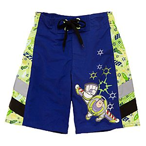 Buzz Lightyear Swim Trunks