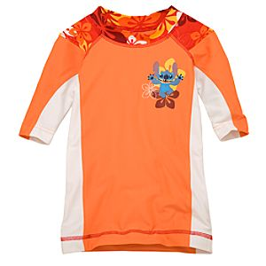 Summertime Fun Stitch Rash Guard