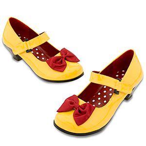 Minnie Mouse Costume Shoes for Women - Yellow