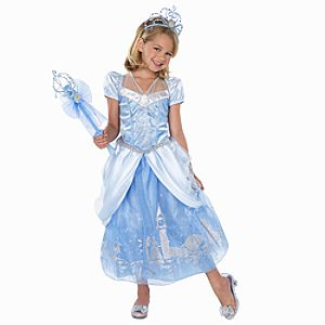 Shimmering Cinderella Costume for Girls