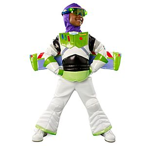 Light-Up Buzz Lightyear Costume for Boys