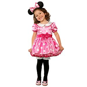 Minnie Mouse Costume for Infants and Toddlers -- Pink