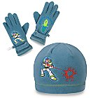 Fleece Buzz Lightyear Hat and Glove Set for Boys