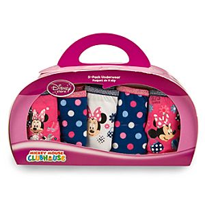 5-Pack Mickey Mouse Clubhouse Minnie Mouse Underwear Set for Girls