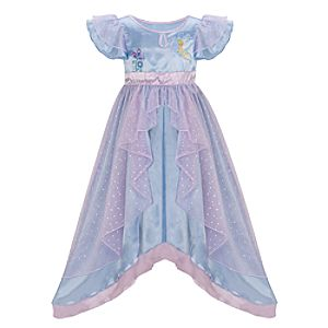 Shimmering Tinker Bell Nightgown for Girls