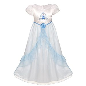 Wedding Cinderella Nightgown for Girls