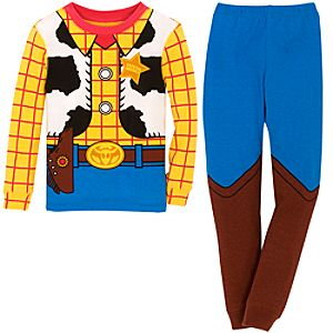 Deluxe Sheriff Woody PJ Pal for Boys