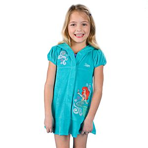 Personalized Ariel Cover Up for Girls