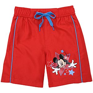 Mickey Mouse Swimsuit for Toddler Boys