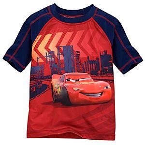 Lightning McQueen Rashguard for Boys