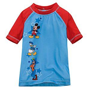 Mickey Mouse Rashguard for Toddler Boys