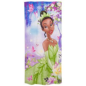 Personalized The Princess and the Frog Beach Towel