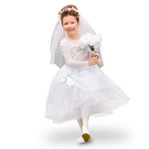 Deluxe Wedding Cinderella Costume for Girls