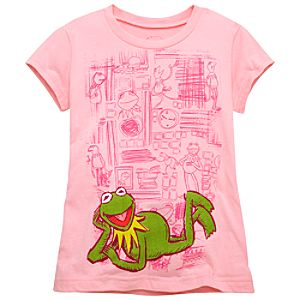Muppets Kermit Tee for Girls