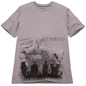 Graveyard Jack Skellington Tee for Men