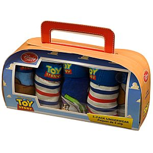5-Pack Toy Story Underwear Set for Boys