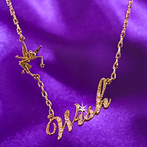 Wish Tinker Bell Necklace by Disney Couture