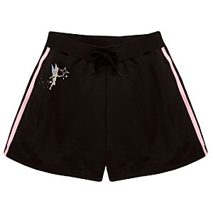 Tinker Bell Track Shorts for Women