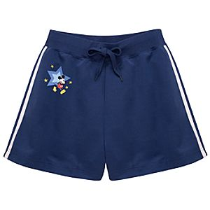 Mickey Mouse Track Shorts for Women