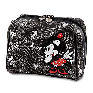 Mickey Mouse Comics Minnie Mouse Cosmetic Bag by Disney Couture