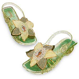 Light-Up Princess Tiana Shoes for Girls