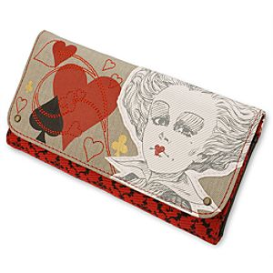 Bags & Totes The Red Queen Alice in Wonderland Wallet