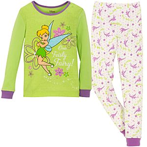 Sparkle Tinker Bell PJ Pal for Girls