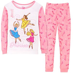 Sparkle Ballet Disney Princess PJ Pal