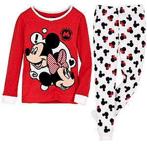 Mickey and Minnie Mouse PJ Pal for Girls