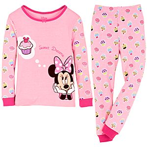 Sweet Dreams Minnie Mouse PJ Pal for Toddler Girls
