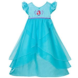Swirling Ariel Nightgown for Girls