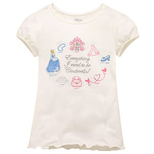 Essential Cinderella Tee for Girls