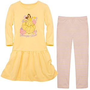 Belle Dress and Legging Set for Girls