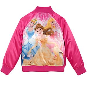 Personalized Varsity Disney Princess Jacket for Girls