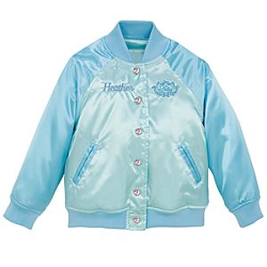Personalized Varsity Ariel Jacket for Girls