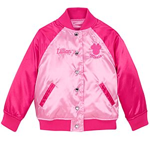 Personalized Varsity Minnie Mouse Jacket for Girls