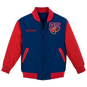 Personalized Varsity Disney Cars Jacket for Toddler Boys