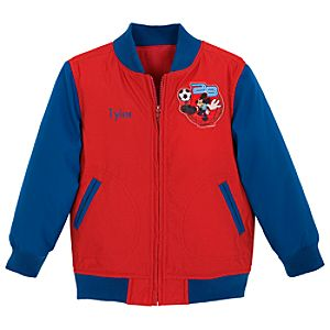 Personalized Varsity Mickey Mouse Jacket for Toddler Boys