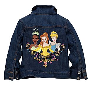 Monogrammed Disney Princess Denim Jacket