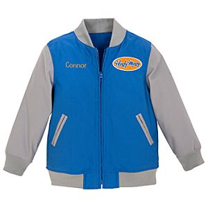 Personalized Varsity Handy Manny Jacket for Toddler Boys