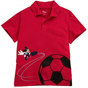 Mickey Mouse Soccer Polo for Toddler Boys