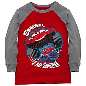Long Sleeve I Am Speed Disney Cars Tee