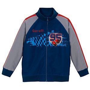 Personalized Disney Cars Windbreaker Jacket for Boys