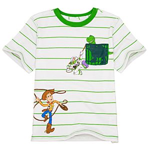 Striped Toy Story 3 Tee for Boys