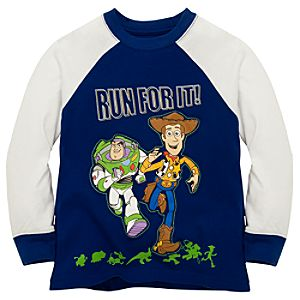Long Sleeve Woody and Buzz Toy Story 3 Tee