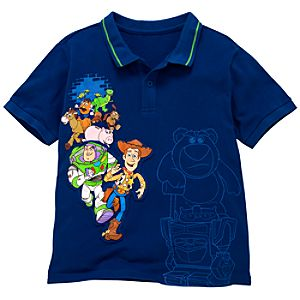 Toy Story 3 Polo Shirt for Boys