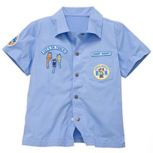 Handy Manny Mechanics Shirt for Toddler Boys