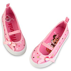 Cupcake Minnie Mouse Shoes for Girls